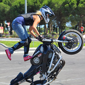 Photos StuntBums Stunt moto Montpellier - Team CO2