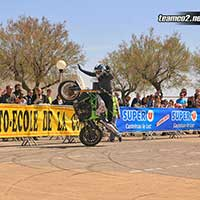Photos Hommage Meeky 2015 La Grande Motte - Team CO2 Stunt moto