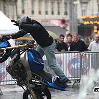 Stunt moto Montpellier Team CO2